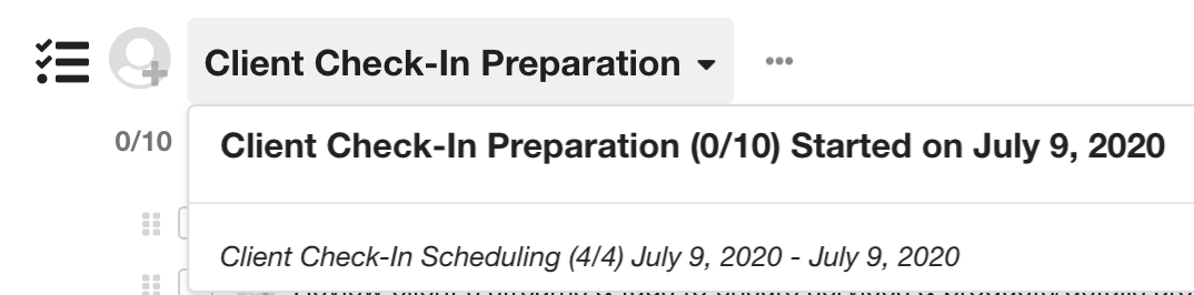 Completion Dates On Completed Workflows In Hubly